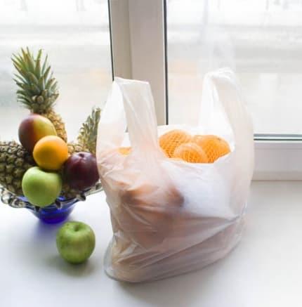 Пакеты-майки (от англ.  T-shirt bags) преимущественно изготавливаются из...